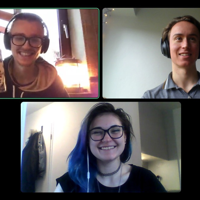 We are so happy to welcome our new TEA-member @krtr_jessi Last week we already met, but we completely forgot to make a new TEAm pic… As we proceed to work more often remotely, we decided to give you some insights in our remote tea-meetings and tea-work